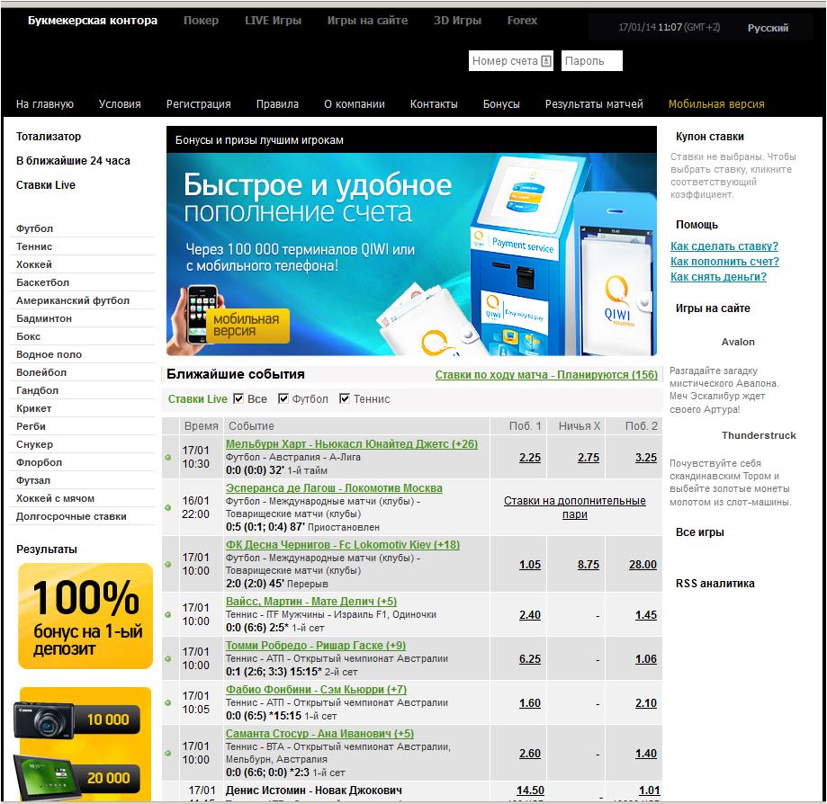 лучшие букмекерские конторы онлайн рейтинг