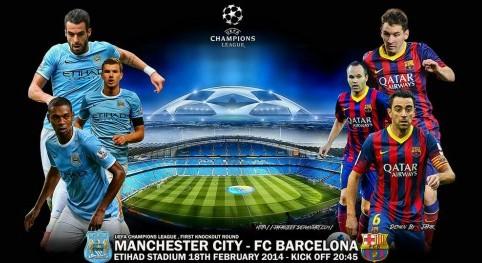 Манчестер Сити - Барселона прогноз