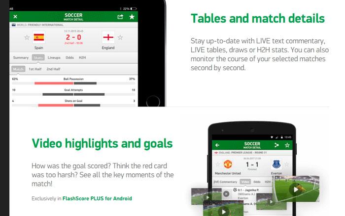 Сейчас приложения для статистики в футболе стали очень симпатичными и удобными