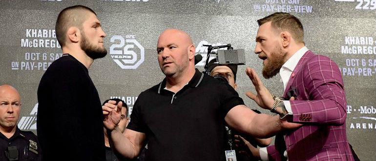 Хабиб Нурмагомедов - Конор МакГрегор - главное событие года в MMA