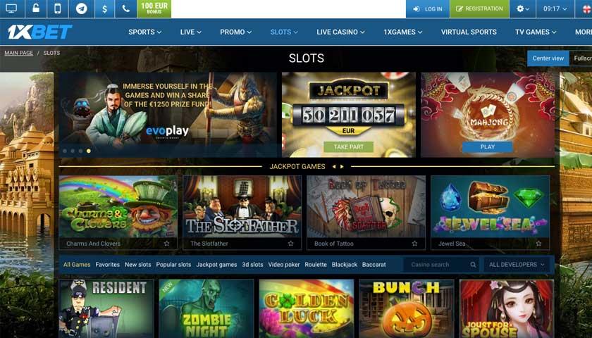 1xbet приложение казино