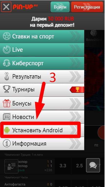 v vypadayuschem menyu pin up vybiraetsya ustanovit android
